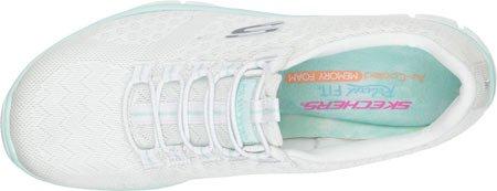 Skechers Sport Ocean View Fashion Sneaker White/Mint