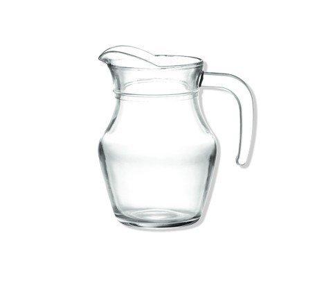 Takestop® Jarra cerveza 0.5litro de cristal transparente jarra con