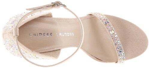 Chinese Laundry Babydoll Femmes Toile Talons Soft Blush