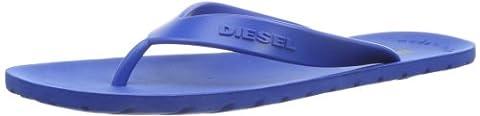 Diesel Plaja Splish, Chaussons homme, Bleu (Nautical Blue), 42 EU