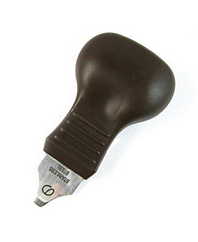 Kratzer-reparatur-remover (Qinlee Gehäuseöffner Uhr öffner Deckelöffner Sprungdeckelöffner Uhren Uhrmacher Remover-Reparatur-Werkzeug (Schwarz))