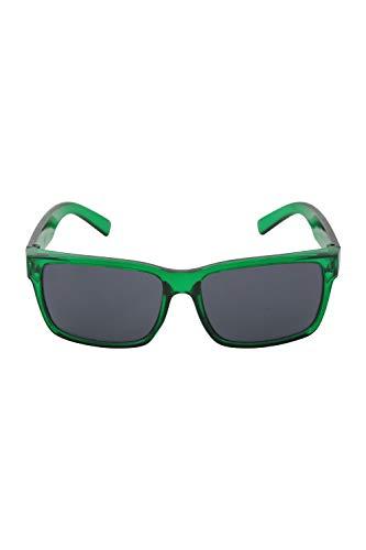 Mountain Warehouse Korfu Kinder-Sonnenbrille - UV400-Gläser, Filter Kategorie 3, Sonnenschutz für Mädchen & Jungen, Matte Ausführung - für Reisen, Urlaub, Picknicks Grün