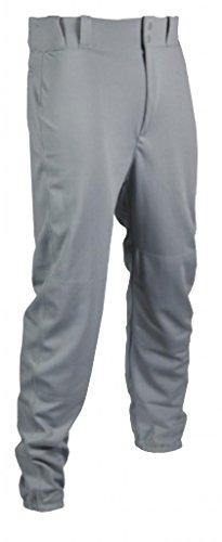 TAG Jugend Baseball Hose mit Gürtelschlaufen (Elastic Hose), Jungen, Grau, XX-Large