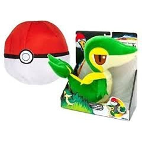 Pokemon verde caja Snivy Transforming Poké Ball 20 cm
