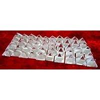Wunderschöne 100klare Quarz lose Pyramiden Bagua Home Office Geschenk Wellness Crystal Healing Reiki Vastu Divine... preisvergleich bei billige-tabletten.eu