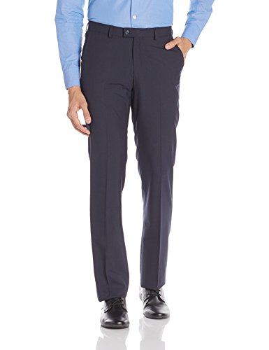 Blackberrys Men's Formal Trousers (8907196470346_dlcelcablai19bpd30_30w X 36l_diesel Black)