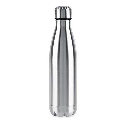 OUTAD Thermos Bottiglia per l'acqua in acciaio Inox per Lo