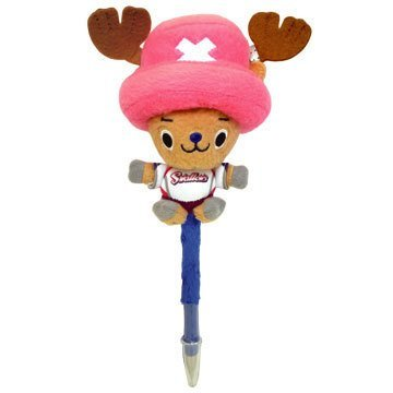 One piece x 12 professional baseball team collaboration stuffed pen Tokyo Yakult...