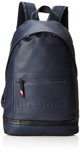 Tommy Hilfiger Herren Offshore Backpack Rucksack, Blau (Tommy Navy/Black), 16x44x31 cm