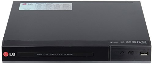 LG DP132 - Reproductor de DVD (Dolby Digital, USB, MP3), color negro