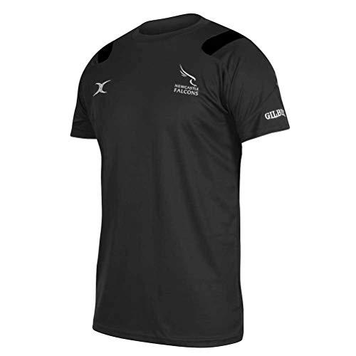 GILBERT Tee-shirt Vapour pour Homme, Noir, M