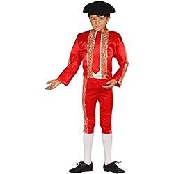 Disfraz de Torero rojo en varias tallas