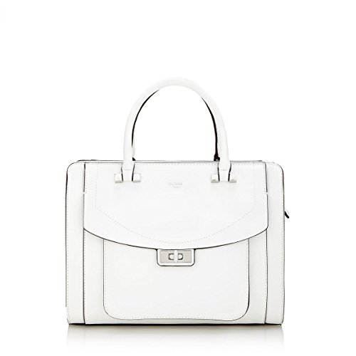 Guess - Sac à main Kingsley (HWEY6485070) taille 26 cm BIANCO
