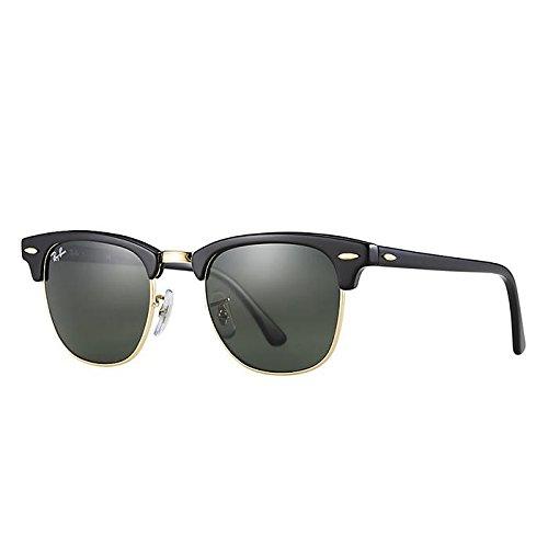 ray-ban-clubmaster-occhiali-da-sole-uomo-donna-nero-schwarz-black-w0365-51-mm