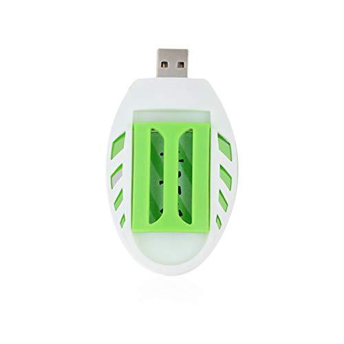Luckyoiu Tragbare elektrische USB Mückenschutz Heizung, Anti Mückenschutz Tablette der Schädlingsbekämpfungs Fliegen 30PCS (Kabine, Heizung)