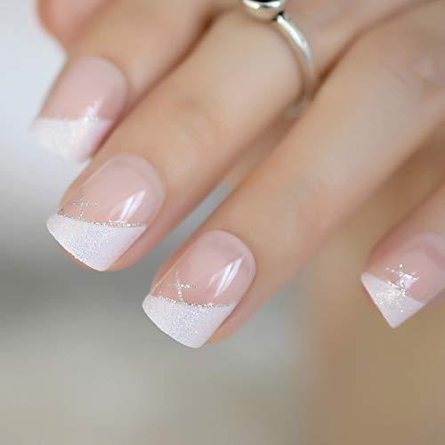 Drücken Sie auf die Nägel Benutzerdefinierte Voll Strass Dekoration Design Stiletto Nägel Extra lange Weinrot UV Gel Shiny Nail Tips 24 Z892