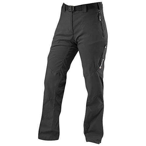 MONTANE Womens Terra Ridge Pant 12 Regular Leg Black