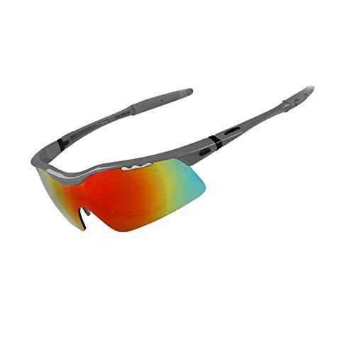 Coniea Brillenträger Softairbrille TPU+PC Motorrad Brille Damen Outdoor Brille Stil 4