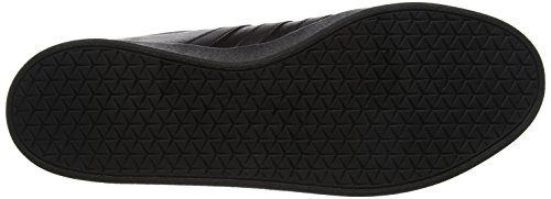 adidas VL Court 2.0, Scarpe da Skateboard Uomo Nero (Cblackftwwht)