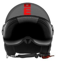 Helm Jet Momodesign figter Fluo grau glänzend Decal neonorange Größe S (Fighter Jet Helm)
