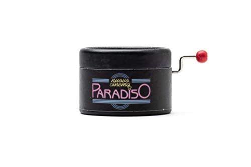Piccolo carillón manovella Nuovo Cinema Paradiso. Con la melodia della colonna sonora di Ennio Morricone.