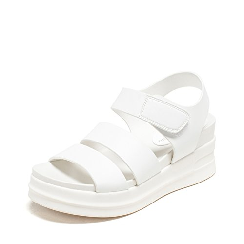 Summer Thick End Student Sandalen/Ein Wort Mit Casual Women's Shoes A