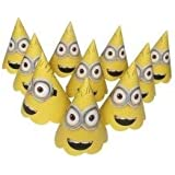 Kids' Street Minions Paper Birthday Party Caps Pack of 10