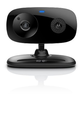 Motorola Focus 66 Wi-Fi HD Audio and Video Home Monitoring Camera (Black)