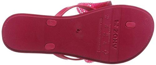 Zaxy Fresh Butterfly Damen Plateausandalen Pink (Pink Glitter)