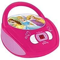 Lexibook - Princess Radio Lecteur CD Disney Princesse - rcd108dp - prise écouteurs - entrée line-in