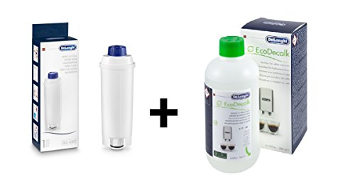 Delonghi - Wasserfilter DLS C002 für Kaffeevollautomaten & Entkalker 500ML