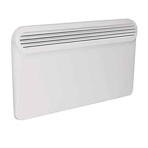 Prem-i-air Elegant Modern Programmable Thin Radiator Panel Heater with LCD Display – WHITE (1500W (1.5 kW))