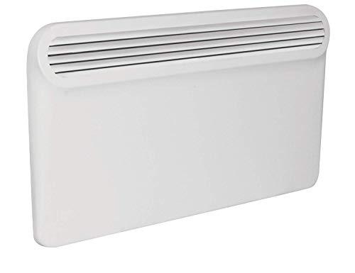 Prem-i-air Elegant Modern Programmable Thin Radiator Panel Heater with LCD Display – WHITE (1500W (1.5 kW))