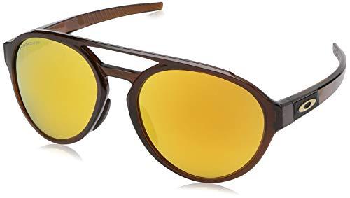 Ray-Ban Herren 0OO9421 Sonnenbrille, Schwarz (Polished Rootbeer), 58