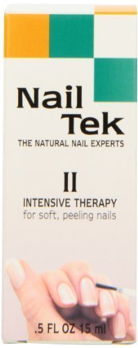 Nailtek Intensive Therapy-2 Treatment for Soft Peeling Nails, 0.5 Fluid Ounce by Nailtek (English Manual)