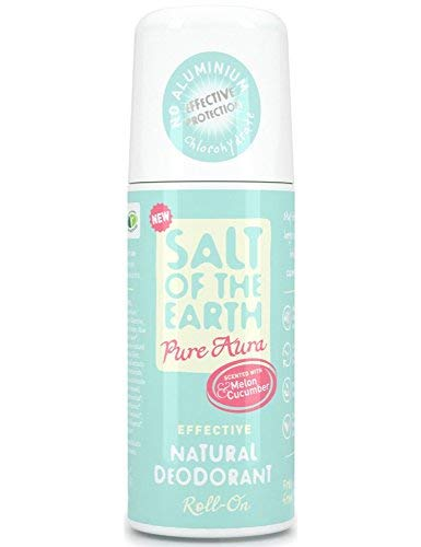 Salt of The Earth Pure Aura Natural Roll On Deodorant