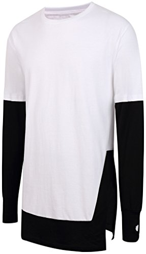 pizoff-unisex-hip-hop-long-sleeve-long-t-shirt-in-black-and-white-using-y1738-03-l