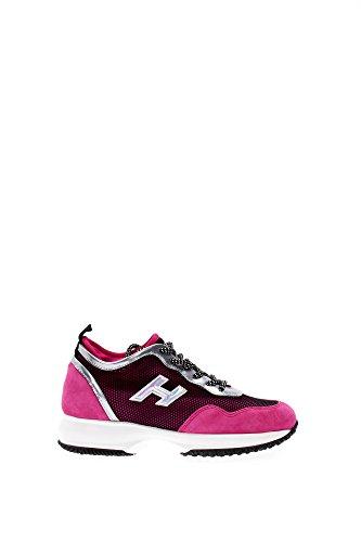HXW00N0U460CJY02F3 Hogan Sneakers Femme Tissu Fuchsia Fuchsia