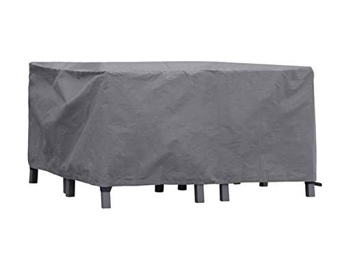 Perel Garden OCLS Schutzhülle Für Lounge-Set-XS, Schwarz, 140 x 140 x 70 cm