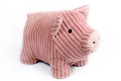large-heavy-cute-pink-pig-ribbed-fabric-door-stop-home-office-animal-cuddly-toy