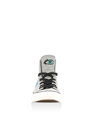 CONVERSE Ct All Star Hi Dolphine/Egret/Black Grigio Melange