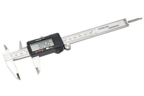 Exact Digitaler Messschieber, Schieblehre 150 mm LCD-Display, 50512