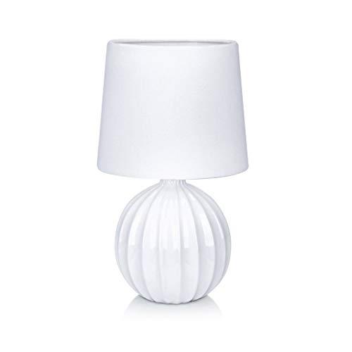 Tischlampe MELANIE weiß - (106884)