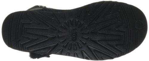 UGG  UGG W Bailey Button Bling, Bottes non-fourrées à enfiler, tige mi-haute femmes Noir (Black)