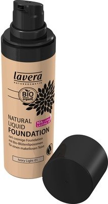 LAVERA Natural Liquid Foundation 01 ivory light 30 ml