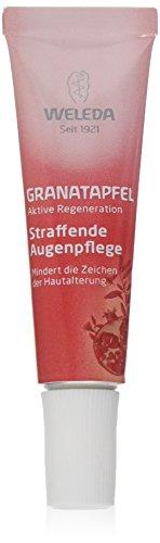 WELEDA straffende Augenpflege Granatapfel (1 x 10 ml) - Augenpflege-Creme zur Straffung der Haut um...