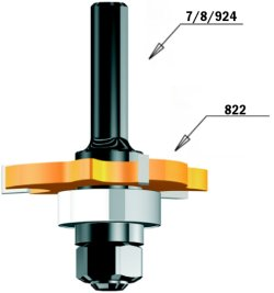 CMT Orange Tools 924.120.10-Dornmaß Spannz S 12mit Kugellager