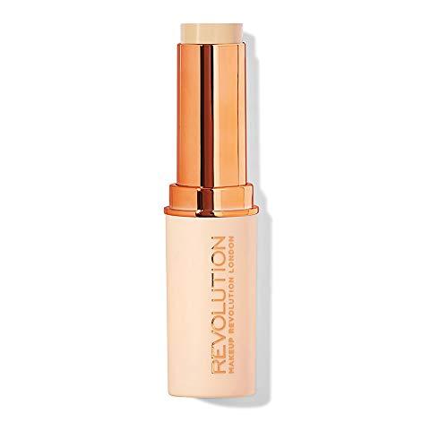 Makeup Revolution London Fast Base Stick Foundation F6, 0.04 grams
