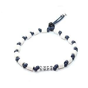 EM-Keramik Halsband für Hunde, wahlweise mit Namen und weiteren Extras, Classic – Navy Blue