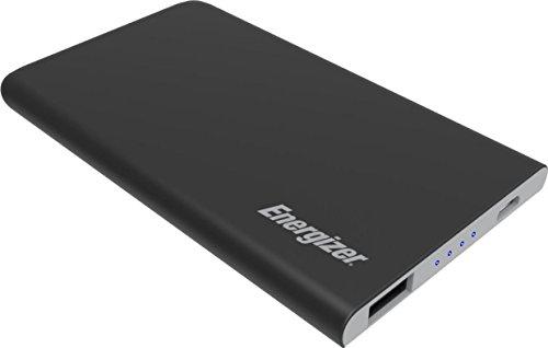 Energizer 4000mAh slim Powerbank, kompakter externer Akku für iPhone Xs/Xs Max/Xr sowie Huawei Mate 20 Pro / P20 Pro und viele mehr - schwarz Energizer Portable Power